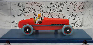 Voiture-Test-Tintin-1-24e-Le-Bolide-Rouge-Course-Cigares-du-Pharaon-Fascicule