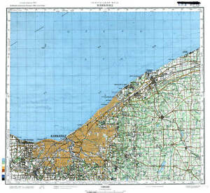 Russian Soviet Military Topographic Maps CLEVELAND USA - Usa map cleveland