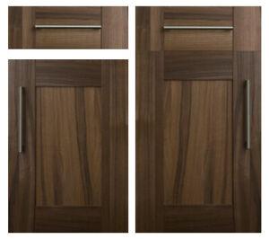 Kitchen Direct Tuscany Dark Walnut Shaker Doors Drawer Fronts Base Wall Door Ebay