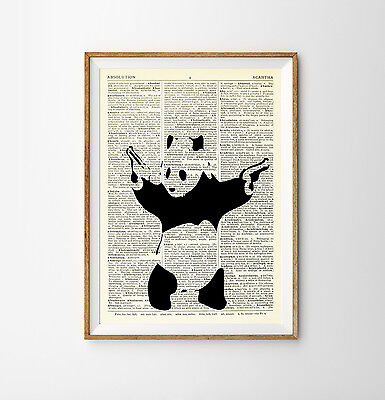 BANKSY PRINT POSTER PICTURE PHOTO DICTIONARY WALL ART BALLOON GIRL ART