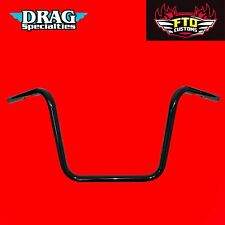 Drag Specialties 12 Inch Black Touring Handlebars HD Touring Ape Hanger