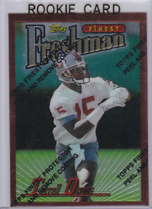 0d948138611 TERRELL OWENS 1996 Topps Finest 49ERS ROOKIE CARD San Francisco ...