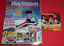 Playstation Magazine [n°17 Fév 98] PS1 Snow Racer 98 Diablo Tekken 3  *JRF