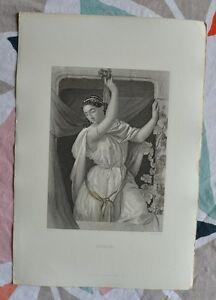 Belle Gravure XIXème - Rahab - Bible - Religion - Gustave Staal - Egleton UYtAtMXG-09091554-366962633