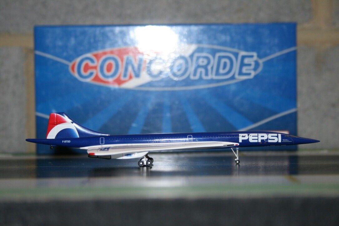 Phoenix 1 400 Air France Concorde  Pepsi  F-BTSD Die-Cast Model Plane