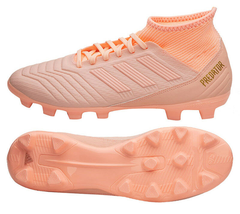 f03cbcd61caf Adidas Predator Cleats 18.3 HG (BB6940) Soccer Cleats Predator Football  Shoes Boots 5e10f7