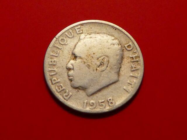 Haiti 5 Centimes, 1958