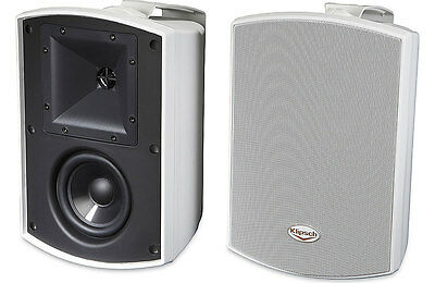 Klipsch AW-500 White Reference All-Weather Outdoor Speakers (Pair)  - NEW!!