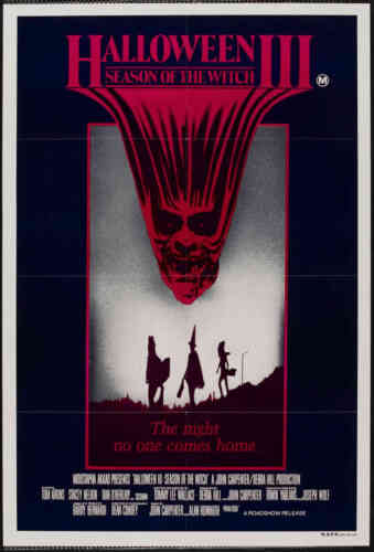 """Framed Movie Print Art Cult Horror Classic """"Halloween 3 Season of the Witch"""""""