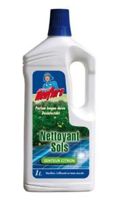 Newflore-Detergente-Purificante-Pavimenti-1L-Profumo-Limone-Verde-Lavabile