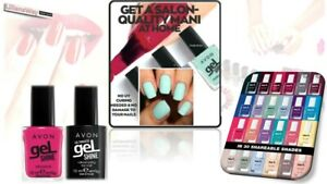 AVON-Gel-SHINE-MARK-Nail-Enamel-GEL-Shine-Top-Coat-NEW-Shades-More-SHINE-RRP-7