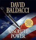 Absolute Power by David Baldacci (CD-Audio)
