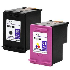2PKs-HP-61XL-CH563WN-CH564WN-For-DeskJet-3000-3050-3050A-3051A-3052A-3054-3056A
