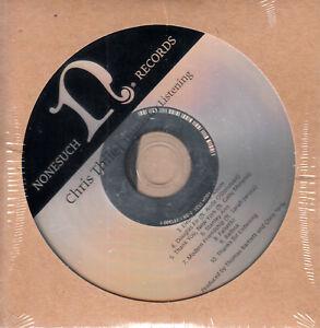 CHRIS-THILE-Thanks-For-Listening-2017-US-10-trk-promo-test-CD-sealed