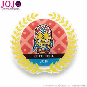 Jojo-Dorado-Viento-Soportes-039-Bizarre-Disfraz-Acrilico-Insignia-Guido-Mista