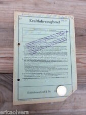 ZÜNDAPP BELLA 204 ROLLER Bj. 1960 ORIGINAL LITERATUR DATENBLATT ! HUHU