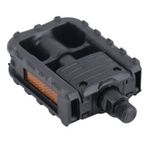 Universal-Plastic-Mountain-Bike-Bicycle-Folding-Pedals-Non-slip-Black-OKC7