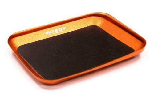 C23347ORANGE RC Magnetic Parts Storage Tray 88x107mm for Hardware Screws /& Nuts