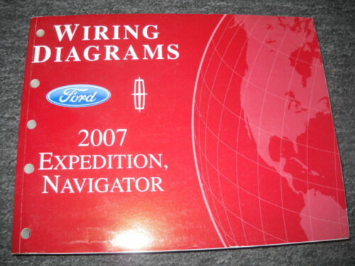 2007 ford expedition & lincoln navigator electrical wiring diagram manual  ewd  aumühle
