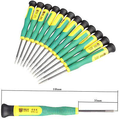 Best-666 12 in 1 Screwdriver Repair Tool Set T2 T3 T4 T5 T6 T8 Ph00 Ph000 UK