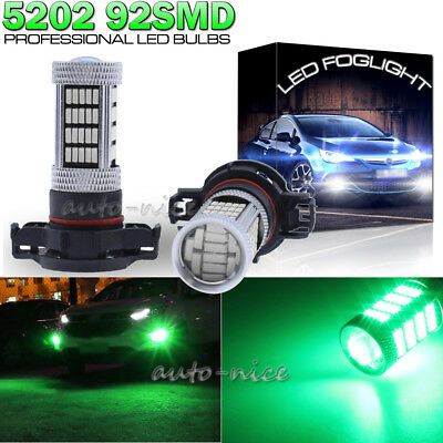 2 Pieces 92-4014-SMD 5202 LED Fog Light Bulbs Lamp for GMC Sierra 1500 2008-2015