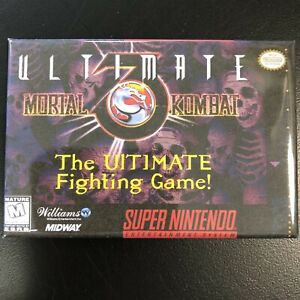Details about Ultimate Mortal Kombat 3 FRIDGE MAGNET 2