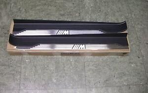 Original BMW e31 8er 840i 850i 850csi M Einstiegsblenden Einstiegsleisten RAR