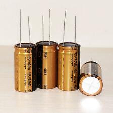 4PCS Japan Nichicon 10000uF/50V  MUSE FW 25*50mm Audio Electrolytic Capacitor