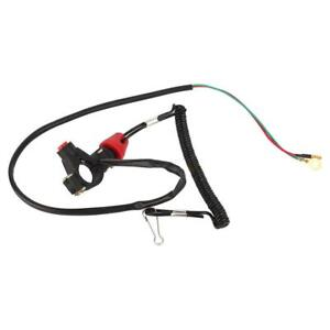 Hot-ATV-Engine-Stop-Kill-Tether-Switch-Lanyard-12V-Waterproof-for-Outboard-Motor