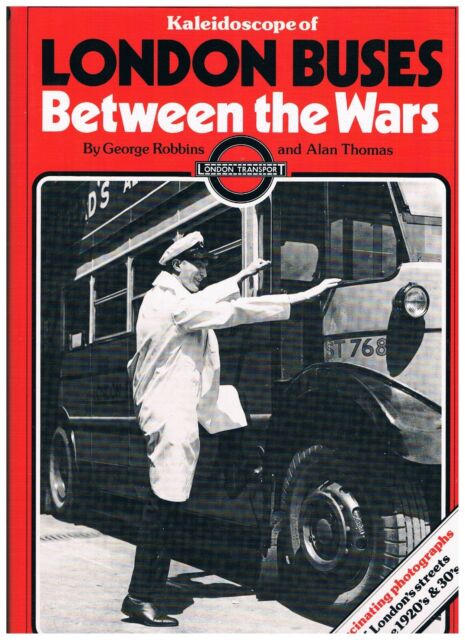 LONDON BUSES BETWEEN THE WARS: Hardback book: NEW UNREAD COPY