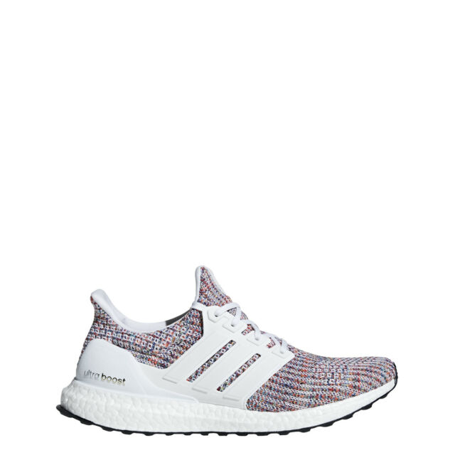16a03fd41e7 Buy adidas Ultraboost 4.0 White Running Shoe Mens Bb6168 Size 9.5 ...