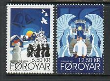 FAROE ISLANDS MNH 2012 CHRISTMAS CAROLS SET OF 2