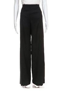laine 34 Slacks Flared Dress Posen de Zac Pants Inseam évasé 6 large couture Pantalon à BRqvPwa