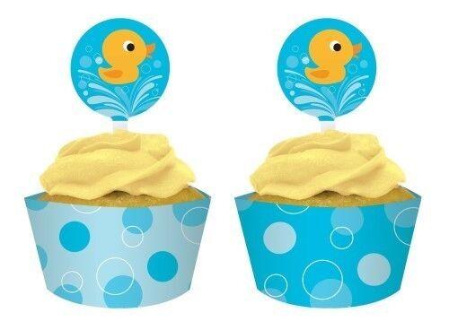 Gamme de 12 Décorative Emballages Petits Gateaux avec Toppers Moules Cuisson