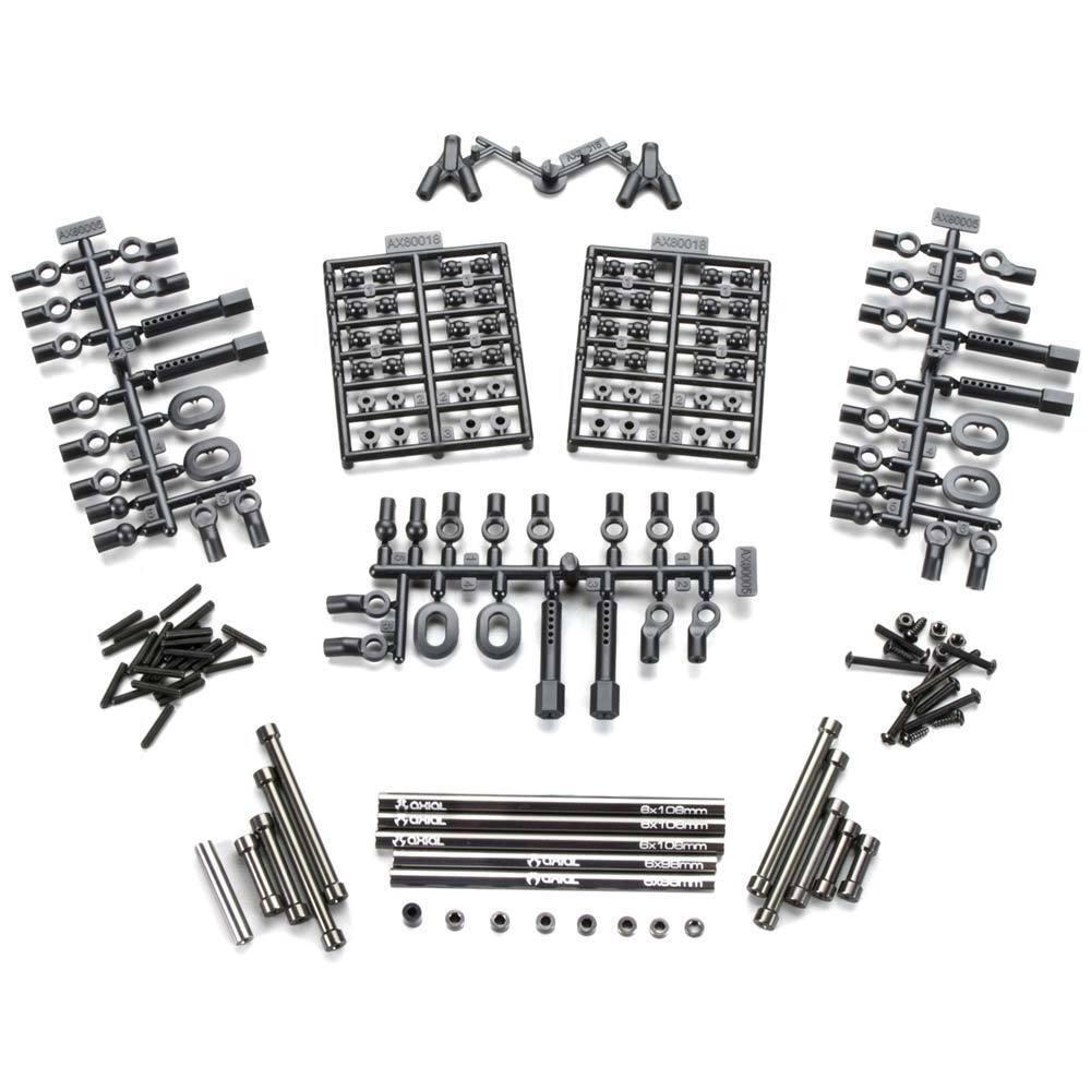 Axial Aluminum Wheelbase Links Set 12.3  (313mm) SCX10 AX30550