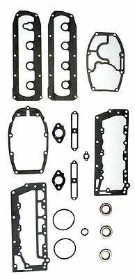 50 Hp 4 Cyl Late Head Cover Gasket 505-31 Mercury 27-85487 Mariner 45