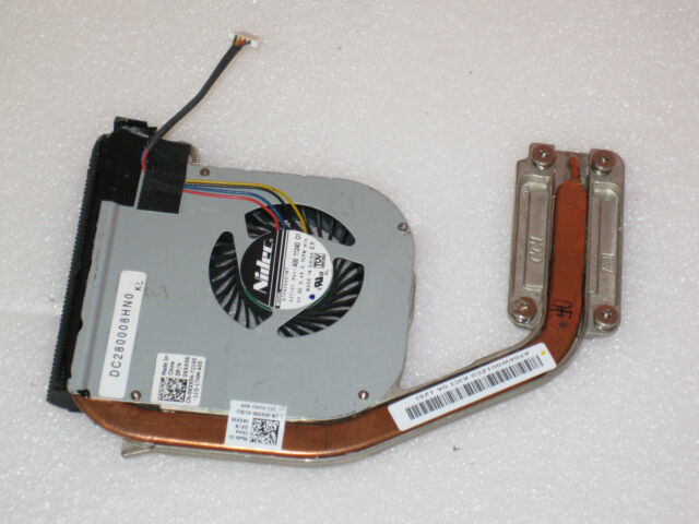 Dell Latitude E4310 CPU Cooling Heatsink with Fan Assy KXX96