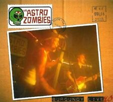 ASTRO ZOMBIES - Burgundy Livers CD - Psychobilly - Brand New
