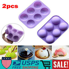 Non-stick Baking Pan Tray with hole DIY topper decoration Cake Topper Decoration for Homemade Chocolate Dessert Candy 2 Pack Football&Coaster Keychain Silicone Mold Football&Coaster