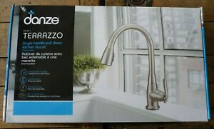 Danze-063-3351-6-Single-Handle-Pull-Down-Kitchen-Faucet-Stainless-Steel