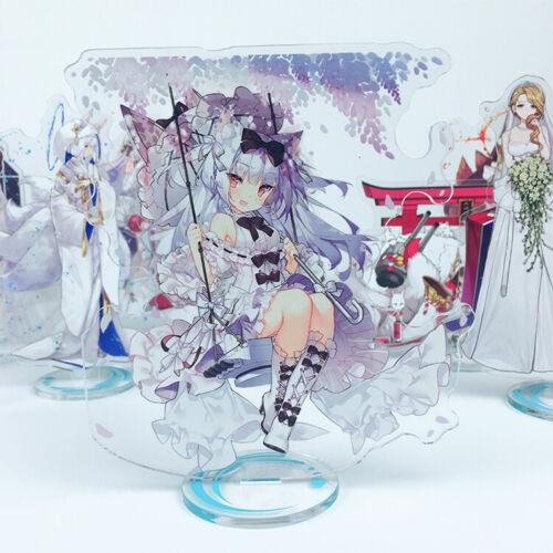 Anime Azur Lane Cute Acrylic Stand Figure Model Desk Decor Gift Cosplay #L8J