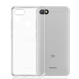 sports shoes 1ff8f 169d4 Details about For Xiaomi Redmi 6A Case Clear Slim Gel Cover & Glass Screen  Protector