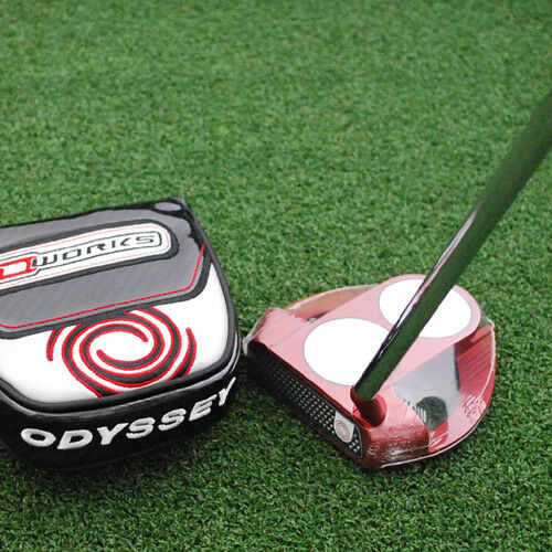 Odyssey 2018 o-funciona Rojo 2-Bola Putter Mazo Fang-S Elegir Largoitud y Grip-Nuevo