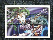 Nicaragua, Missouri Souvenir Sheet, 1991 Alien Sightings, Scott 2020, MNH