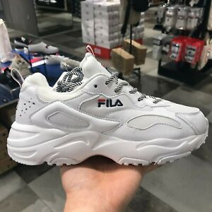 Detalles acerca de FILA Ray Tracer Hombres Mujeres Auténtico Ugly Zapatos  Blanco SZ4-11 FS1SIB1184X- mostrar título original