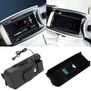 Armrest-Box-for-Mercedes-Benz-new-C-GLC-Class-Center-Console-Wireless-Charging