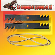 "Deck Kit Belt and Multch COPPERHEAD HD Blades AYP Craftsman 42/"" Lawn Tractor"