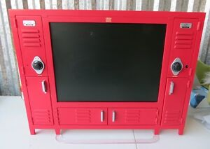 Disney-High-School-Musical-15-Flat-LCD-TV-PLEASE-READ-RED-Lockers-Open
