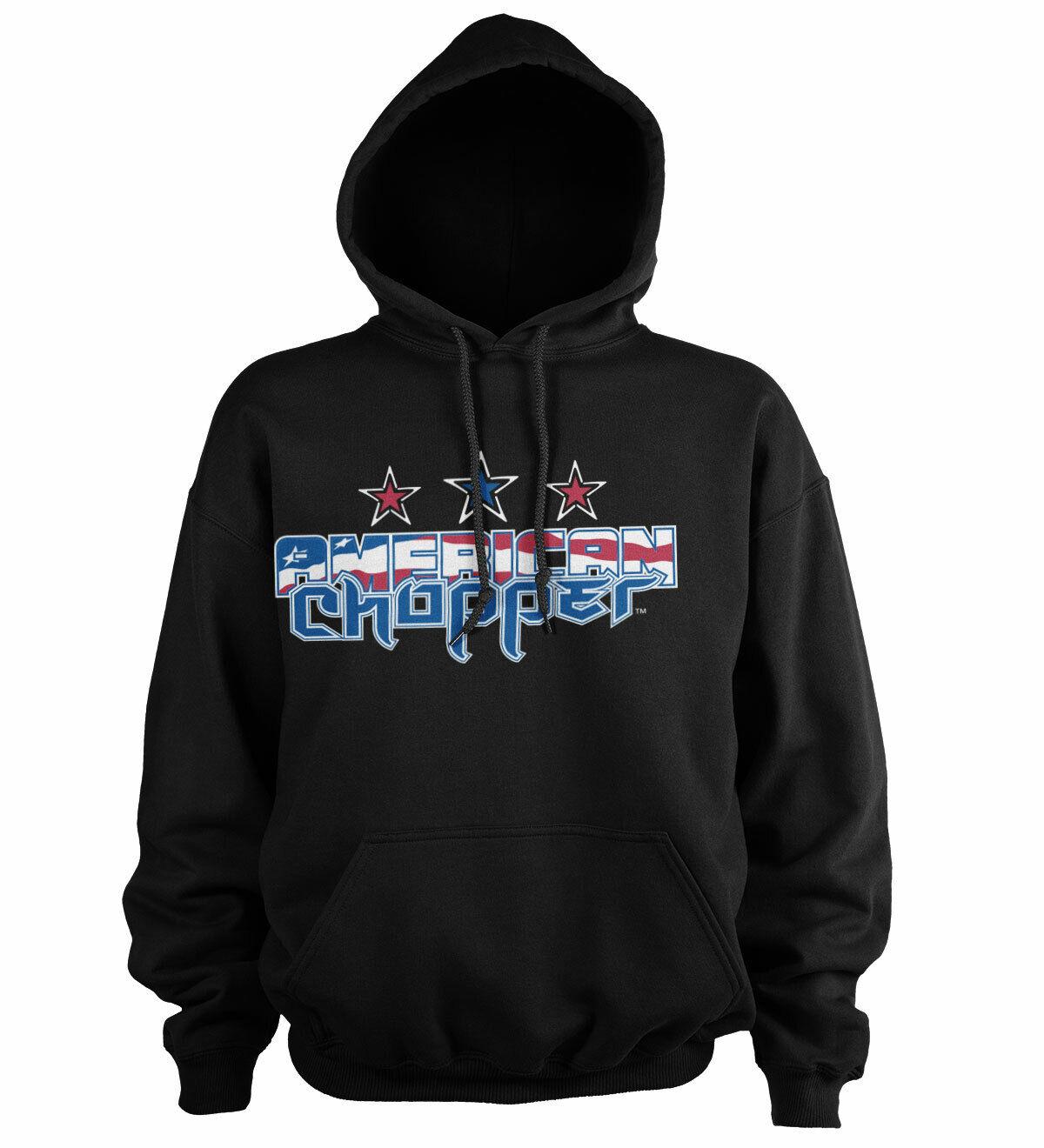 Officially Licensed American Chopper Flag Logo BIG & TALL 3XL, 4XL, 5XL Hoodie