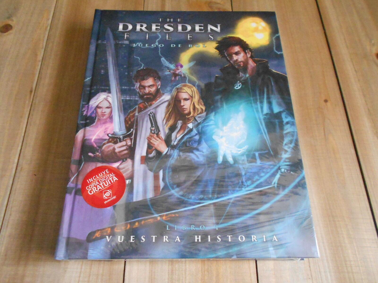 The Dresden Files - Basic - Set Role Play - Nosolgoldl Jim Butcher - Edition